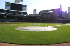 The grass is green, the sun is out and we're just 7 days from Opening Day at Target Field!