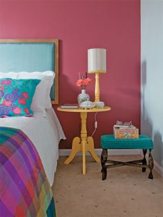 bright room colors for interior decorating Room Colors, House Colors, Home Bedroom, Bedroom Decor, Master Bedroom, Bright Homes, Home Decor Inspiration, My Room, Decoration