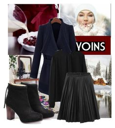 """""""yoins 37"""" by ajsajunuzovic ❤ liked on Polyvore featuring women's clothing, women, female, woman, misses and juniors"""