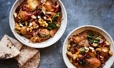 Indian Recipes Anna Jones' Sri Lankan potato, coconut and chard curry. Curry Recipes, Veggie Recipes, Indian Food Recipes, Asian Recipes, Vegetarian Recipes, Cooking Recipes, Ethnic Recipes, Veggie Meals, Healthy Recipes