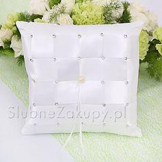 PODUSZKA na obrączki Diamonds #slub #wesele #sklepslubny #slubnezakupy #dekoracje Bed Pillows, Pillow Cases, Pillows