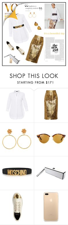 """""""Street Style 2017"""" by marthalux ❤ liked on Polyvore featuring Piazza Sempione, Raoul, Dolce&Gabbana, Ray-Ban, Moschino, Chanel and Lanvin"""