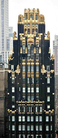 Travelling - American Radiator Building, NYC