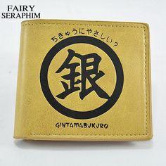 FAIRY SERAPHIM Standard Gin Tama Wallet Carteira Feminina Wallets Cartoon Pattern Teenager Style Pu Leather Anime Short Purse #Affiliate