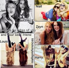 Awww my Best friend and I do those anyway! But I love Louis's and Niall's