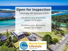 Join us at our Open for Inspection today at & Mona Lane, Brunswick Heads Brunswick Heads, North Coast, Open House, Real Estate, Join, Real Estates