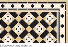 Art deco flooring | These colours are typical of art deco flooring and also tie in to the ...