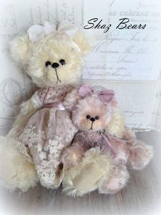 Betsy and Belinda by By Shaz Bears   Bear Pile