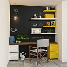 - Home Theater Study Room Design, Boys Room Design, Home Office Design, Home Office Decor, Office Designs, Home Study Rooms, Room Interior, Interior Design, Leroy Merlin