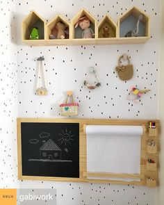 Dress up your room without spending money - HomeDBS Baby Bedroom, Baby Room Decor, Kids Play Spaces, Baby Room Design, Kids Bedroom Furniture, Toy Rooms, Kids Decor, Home Decor, Little Girl Rooms