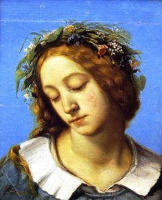 Gustave Courbet - Ophélie, la fiancée de la mort, 1842