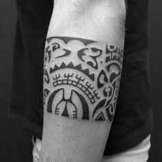 The 24 Best African Armband Tattoo Designs For Women Images On