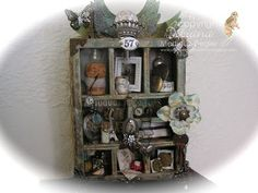 by Stamping with Bibiana: #TimHoltz...#ConfigurationBox Class! visit my blog for more details on this box