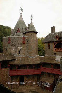 Castell Coch, Tongwynlais, South Wales, UK