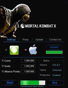 Mortal Kombat X Hack – Unlimited Koins Cheats download for mobile. Download Mortal Kombat X Hack – Unlimited Koins Cheats full version. Mortal Kombat X Hack – Unlimited Koins Cheats for Mac, iOS and Android. Last version of Mortal Kombat X Hack – Unlimited Koins Cheats