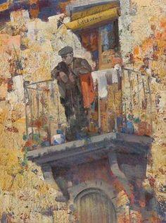 Giulio da Vicchio, Al balcone