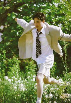 Exo Do, Do Kyung Soo, Kyungsoo, Garden Sculpture, Wallpapers, Wallpaper, Backgrounds