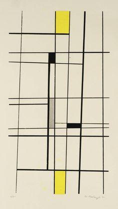 Warren Mackenzie (born 1924) Date 1951 MediumScreenprint on paper