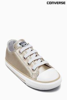 Buy Converse Gold Little Kids Metallic Chuck Lo online today at Next: Belgium