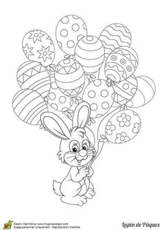 Easter Coloring Pages Easter Coloring Sheets, Easter Colouring, Coloring Pages For Kids, Coloring Books, Egg Coloring, Easter Art, Easter Crafts For Kids, Easter Bunny, Easter Eggs