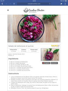 Nutrition, Quinoa, Vegetables, Food, Apple, Recipes, Essen, Vegetable Recipes, Meals