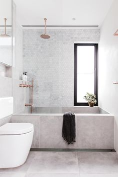 We've pulled together lots of styles, materials and layouts of the best bathrooms. Dream big!