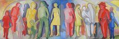 "Nicola Quici Original  Oel gemälde   "" Generation ""  in Antiquitäten & Kunst, Plastik & Skulptur, Ab 2000   eBay!"