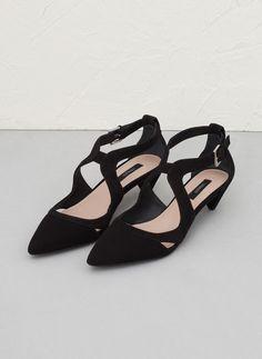 Uterque Black Heels