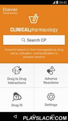 Clinical Pharmacology  Android App - playslack.com , Clinical Pharmacology is the leading professional drug reference solution. Available to current subscribers only, the app is included under your organization's subscription provided they authorize mobile use for drug reference.EASY LOGIN FOR SUBSCRIBERS ONLY• If you already have a user name and password, you may install the application now, then use these credentials to log in and begin downloading the Clinical Pharmacology database.• If…