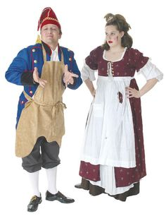 Monsieur and Madame Thenardier Costumes - Les Miserables Rental from $39-53 per costume