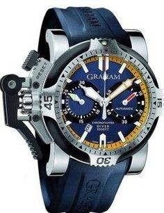 Graham Chronofighter Oversize Diver Date Tech Seal Scarab A