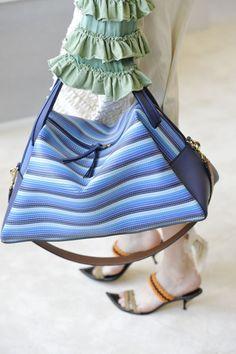 Spring 2017 Runway Report, Favorites #handbags #accessories #springfashion ; Loewe