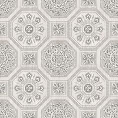 Brasilia Grey wallpaper by Arthouse