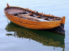 Wooden Shallop by Janice Drew - Some Pilgrims slept in the shallop.  A small boat that would later be used for exploring.