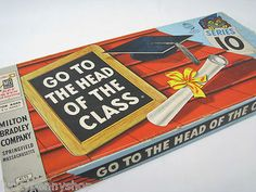 Vintage Go To The Head Of The Class Game http://www.luckypennyshop.com/toys.htm