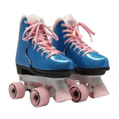 She'll love to move and groove in these Circle Society Bling Bubble Gum girls' roller skates. Roller Skating, Roller Derby, Stuart Weitzman, Kids Roller Skates, Retro Fashion, Vintage Fashion, Hippy Fashion, Pumps, Roger Vivier