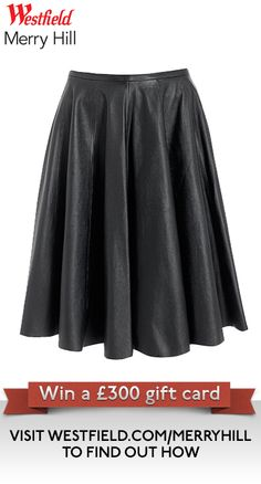 Part of our Autumn Fashion Pin It To Win It Competition City Style, Leather Skirt, Competition, How To Find Out, Jackson, Autumn Fashion, Events, News, Skirts