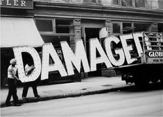 Try not to damage the damaged.