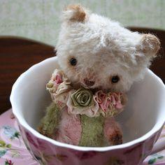 Harlequin pocket bear by VivianneGalli