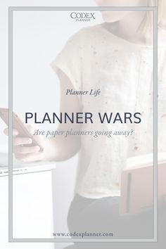 Digital vs. Paper Planners by Codex Planner  #plannerlove #organize #digitalplanner #paperplanner #plannersociety #codexplanner