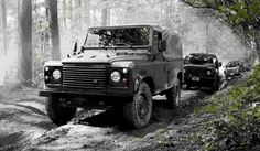 Military vehicle: Defender driving on snow and mud. Vienna, Military Vehicles, Mud, How To Find Out, Snow, Business, Army Vehicles, Eyes
