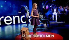 11 år gamle Guro Heggholmen ber oss bli bevisst våre fordommer. Det høres ut som et godt råd, mener teknologispaltist Anne Worsøe. Foto: TEDx/Youtube