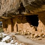 Walnut Canyon National Monument  Cliff Dwellings Along the Island Trail, #Arizona