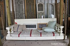 Charles Phillips Antiques - mobile, AL  - swinging beds