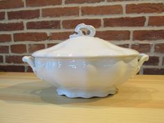 Antique Johnson Brothers Ironstone Oval by ShopTheHyphenate