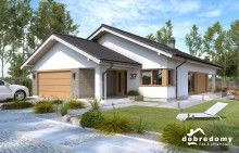 Miriam V - Dobre Domy Flak & Abramowicz Planer, House Plans, Sweet Home, Shed, Construction, Outdoor Structures, Outdoor Decor, Bungalows, Home Decor