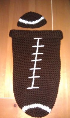 Things I crochet, baby football