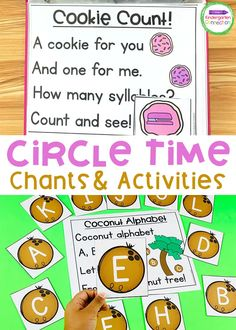 Pre-K & Kindergarten Chants for Circle Time -The Kindergarten Connection