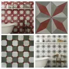 vintage tiles from bert and may images by yeshen venema