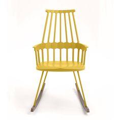 Kiva keinutuoli, vaan onkohan kestävää materiaalia? Entä hyvä istua?